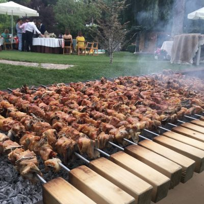 catering lechazo